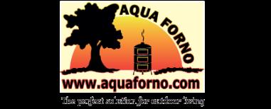 Aqua forno with strapline 2742