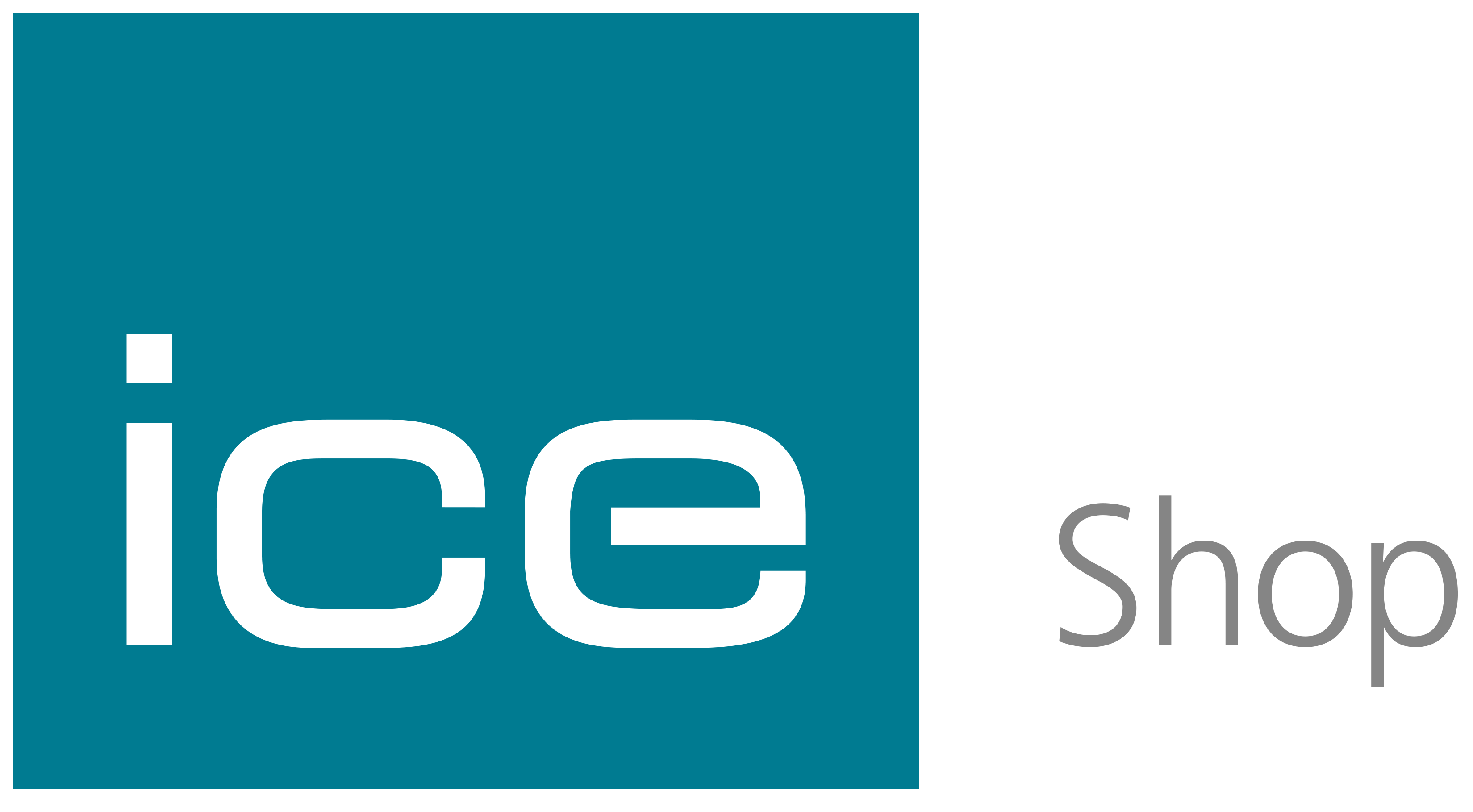Ice shop logo