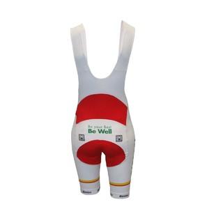 Shell cycling bib shorts woman 1ava 038 back
