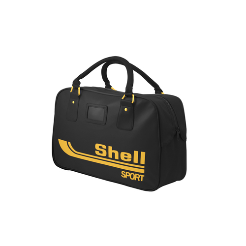 Shell Heritage - Sports Holdall Bag - Black and Gold - Shop Central 9c865d0aecf0f
