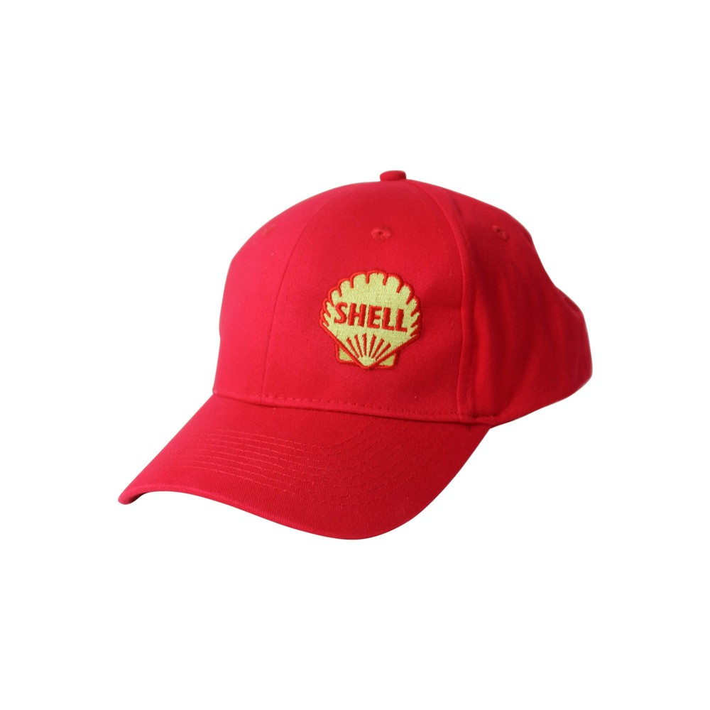 Shell Heritage Cap 1955 Pecten Red Shop Central